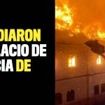 VIDEO: Incendiaron el Palacio de Justicia de Tuluá